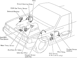1988 4 cyl pickup 22re engine have no power to fuel pump inspection of circuit opening relay