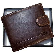 Fino <b>Male Genuine Leather</b> Wallet - Brown (Hl1301) | Buy Online in ...