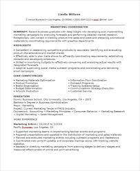 production coordinator resumes 30 professional marketing resume templates pdf doc free