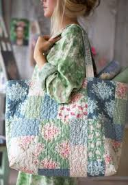 Quilt Inspiration: Free pattern day: Tote bags ! | Quilting ... & Summer Bag | Tildas World, free tut, I love her fabric. Quilted Bags  PatternsPatchwork ... Adamdwight.com
