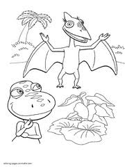 Small Picture 108 Dinosaur Train coloring pages