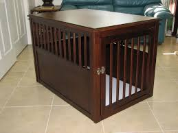 modern dog crate end table  making an auxiliary dog crate end