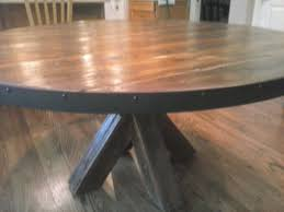 custom made barn wood kitchen table