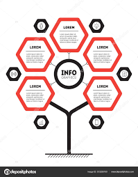 Web Chart Template Web Template Tree Info Chart Diagram Infographic Technology