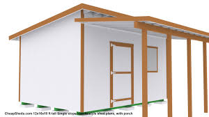 Shed Roof Designs Lean To Style Sheds