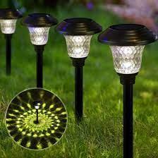 water proof lights solar garden lights