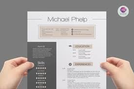 Professional Resume Template Templates Creative Market 2 Myenvoc