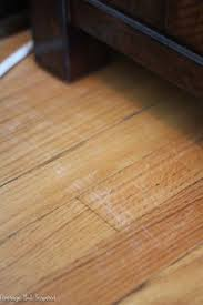 how to fix scratched hardwood floors in no time