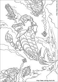 Kida Atlantis Kleurplaat Coloring Page Atlantis Coloring Pages 10