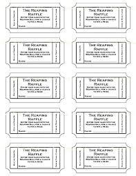 Tombola Tickets Template Free Editable Raffle Movie Ticket Templates