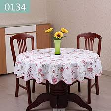 qwm extra large tablecloth round restaurant pvc average for table prodigous 9