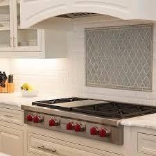 Blue Arabesque Kitchen Cooktop Backsplash Tiles. Stove BacksplashBacksplash  IdeasKitchen ...