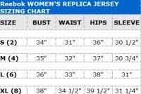 Reebok Jersey Size Chart Fanatics Nhl Jersey Size Chart Adidas Hockey Jersey