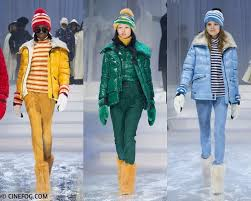 jackets fall winter 2017 2018 fashion trends yellow green and blue puffer