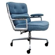 vintage office chairs for sale. Vintage Time Life Chair In Blue Twill Fabric Office Chairs For Sale T
