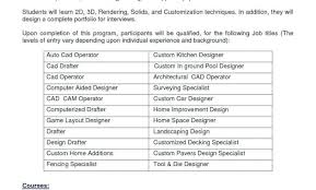 Sample Autocad Drafter Resume Cad Drafter Sample Resume Podarki Co