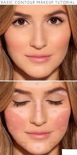 how to basic contour makeup tutorial beautiful makeup and skincare tips beauty makeup skin makeup beauty