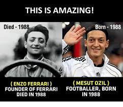 Enzo Ferrari Mesut Ozil Related