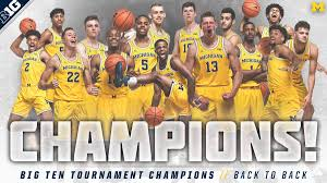 Average instructor satisfaction rating of 9.3 out of 10. Michigan Men S Basketball On Twitter Back To Back Big Ten Champions