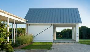 barn sliding garage doors. Barn Door Style Garage Contemporary With Sliding Gravel Doors