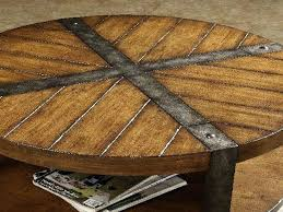 round wood metal coffee table coffee table round wood coffee table with metal legs round coffee