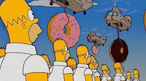 Image result for donuts homer