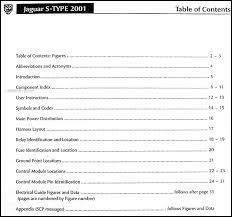 2001 jaguar s type electrical guide wiring diagram