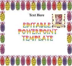 Easter Editable Powerpoint Templates