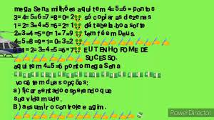Mini tabela da mega Sena concurso 2334=2335=2336=2337=2338= - YouTube