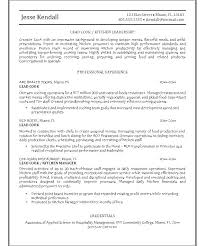 fast food cook resumes restaurant chef resume sample cook personal head samples by s