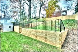 small garden fence ideas retaining wall timber landscape en wire id garden fence ideas small