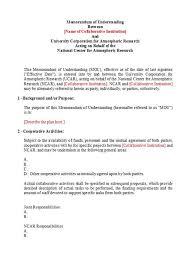 50 Free Memorandum Of Understanding Templates Word