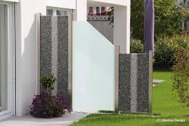 Sichtschutz Glas Garten Sch N Impressionen Von Exklusiven