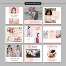 Pink Fashion Social Media Post Template Vector Premium Download
