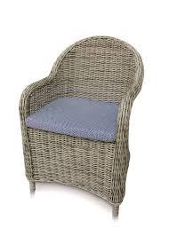 Julia <b>Dining Chair</b> w/ Sky <b>Cushion</b> - Set of 2