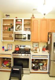 Painting My Kitchen Cabinets White Painted Oak Kitchen Cabinets Reveal Momhomeguidecom