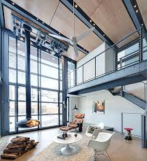 industrial look office interior design. Industrial Interior Design View In Gallery Metal Staircase An Home Look Office K