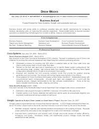 It Analyst Resumes Technical Analyst Resume Sample For Business Analyst Resume Sample
