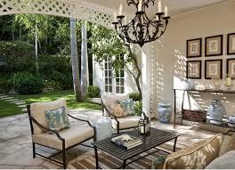 wrought iron outdoor chandelier