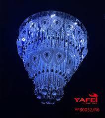customized crystal ceiling lights flush crystal lights 500mm 600mm 600mm