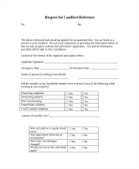 Rental Reference Letter Templates Free Sample Example Format ...