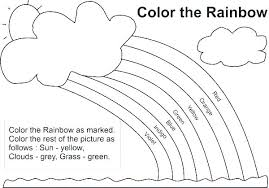 coloring pages free printable rainbow coloring sheets pages rainbows page book also rainb