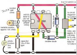model train detector circuit using a photocell model train detector schematic