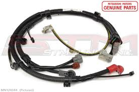 positive battery cable wiring harness oem evo viii ix battery wiring harness for kazuma 110 at Battery Wiring Harness