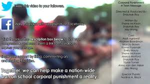 corporal punishment in schools a teen message