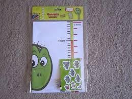 Kids Childrens Height Growth Chart Giraffe Jungle Animal