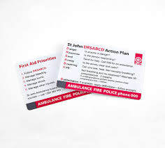 Free Printable Cpr Chart Cpr Chart Wallet Card St John Nsw