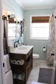 I seem to really like this paint color because its the color blue i seem to  pin A LOT! Benjamin Moore Palladian Blue Bathroom and planked walls!