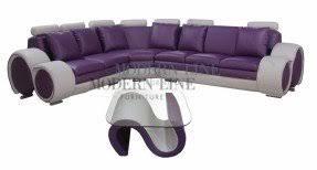 Plum sectional sofa