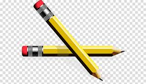 Yellow Office Yellow Office Supplies Pencil Pen Writing Implement Clipart